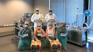 Altifort Boart Nivelles: des outils de découpe à la production de masques chirurgicaux