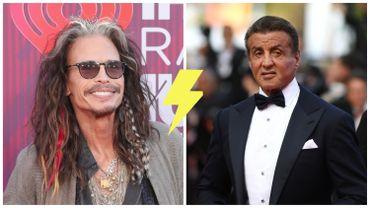 Bientôt un combat Steven Tyler VS Sylvester Stallone?