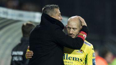 Adnan Custovic et Franck Berrier, alors entraîneur et joueur, doivent sauver Ostende.