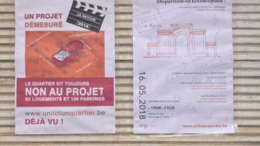 Les riverains s'opposent au projet immobilier et à la destruction d'un ancien Delhaize