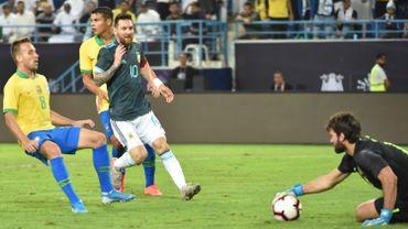 Messi s'offre le Brésil pour son retour avec l'Argentine