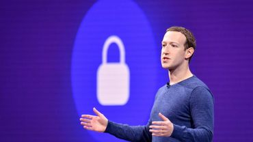 Le patron de Facebook Mark Zuckerberg en mai 2018 en Californie