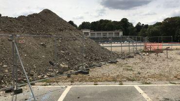 Les terres excavées pour installer le pavillon de Milan au sommet de la Citadelle de Namur sont polluées.