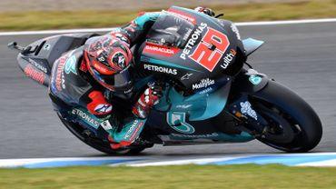 MotoGP: Quartararo en tête des premiers essais libres à Motegi