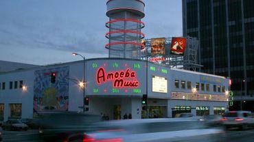 Le magasin Amoeba Music exproprié