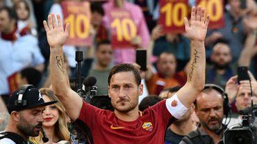 Italie: Francesco Totti, l'icône de l'AS Rome, annonce sa retraite sportive