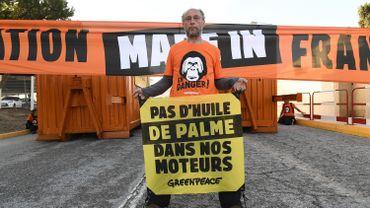 Blocage de la raffinerie de La Mède (Bouches-du-Rhône)