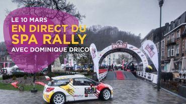 En direct du Spa Rally 2018