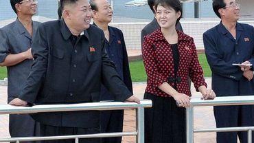 Kim Jong-Un et son épouse, Ri Sol-Ju