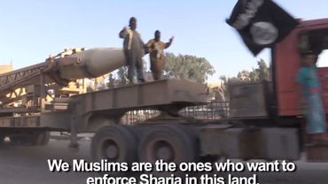 Extrait du reportage 'Inside the Islamic State'