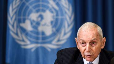"""""""Arrêter un bateau ou davantage en Méditerranée n'est pas une réponse aux défis de migrations de l'Europe"""", affirme William Lacy Swing, dont le successeur doit être élu dans quelques semaines."""