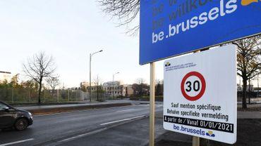Bruxelles devient Ville 30 ce vendredi 1er janvier