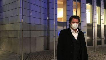 L'ex-député bourgmestre sérésien, à la sortie du tribunal, ce jeudi