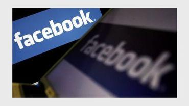 Le logo du résau social Facebook