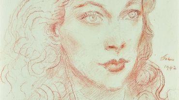 Portrait de Vivien Leigh par Augustus John (1942), estimé entre 5.000 et 7.000 livres.