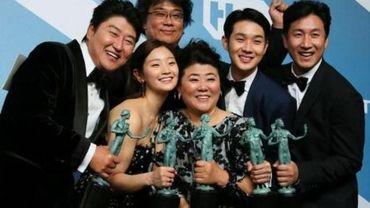 """Le film """"Parasite"""" remporte le grand prix de l'Union de la presse cinématographique belge"""