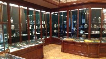 Les vitrines du magasin Wolfers, rare témoin de l'Art Nouveau