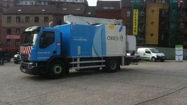 Une première en belgique: un camion entièrement équipé au gaz naturel