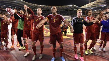 Les Diables Rouges qualifiés pour l'EURO 2016