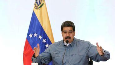Le président du Venezuela, Nicolas Maduro, le 4 juin 2018 à Caracas