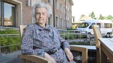 Fanny Godin a 110 ans
