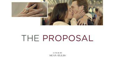 """Affiche du film Cartier""""The Proposal"""", hommage à la ville de l'amour."""