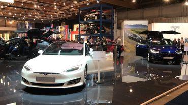 Tesla est présent au Salon de l'Auto de Bruxelles, mais pas son dernier né, le Model 3.