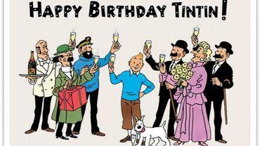 Joyeux anniversaire Tintin et Milou !