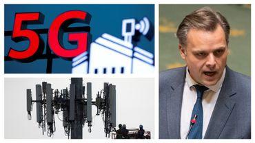 Philippe De Backer (Open VLD) est le ministre des Télécommunications du gouvernement Wilmès II