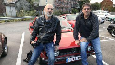 Pierre Lorand et notre gagnant Denis Marlet