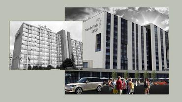 Un an de retard, pour la reconversion de l'hôtel du Palais des Congrès de Liège