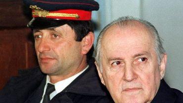 Ramiz Alia en 1997