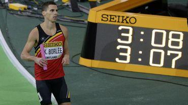 Athlétisme : Kevin Borlée conclut le 4x400 m belge