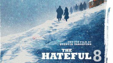 """La nouvelle affiche de """"The Hateful Eight"""""""