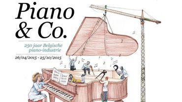 Un piano à queue vieux de 200 ans prêté par le Palais royal pour une exposition à Gand