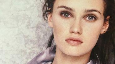 Marine Delterme partage ses photos de jeune mannequin