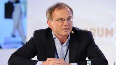 Armin Wolf, présentateur star du 20H sur la radio- télévision publique autrichienne, ORF