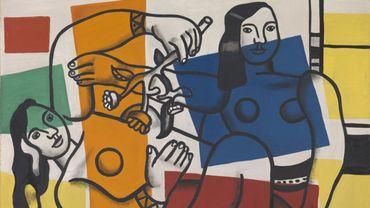 """Fernand Léger, """"Deux femmes portant des fleurs"""" (1954)"""