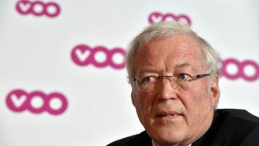 Le directeur général de Brutélé Jean-Michel Adant (2016)