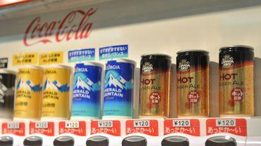 Coca-Cola lance une boisson alcoolisée au Japon