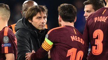 Mercato: Conte balaie les rumeurs sur la venue de Messi à l'Inter Milan