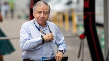 Jean Todt Président de la FIA pourrait proposer un début de saison de F1 à huis clos.