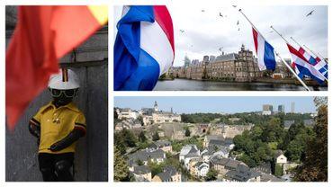 Images du Benelux : Belgique, Pays-Bas et Luxembourg (illustration)