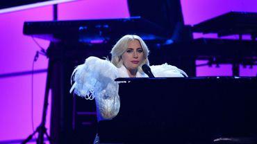 Lady Gaga en janvier dernier - © Michael Kovac - AFP