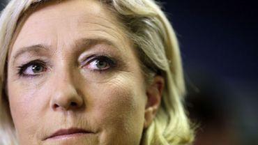 La présidente du FN Marine Le Pen a annoncé le retour du porc dans les cantines d'écoles des mairies conquises par son parti