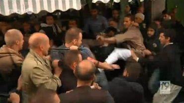 Certains manifestants ont cherché la confrontation avec les forces de l'ordre
