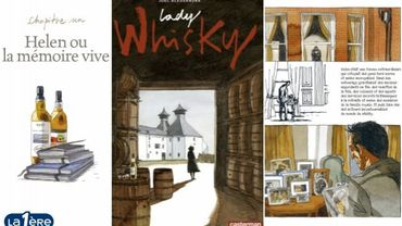 Lady Whisky, une BD autour d'une femme qui comptait dans le secteur de l'alcool fort