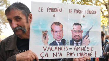 Entre 11.500 et 50.000 manifestants à Paris contre la politique sociale de Macron