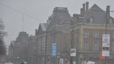 Un bâtiment de la police à Etterbeek