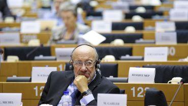 L'eurodéputé libéral belge Louis Michel (ADLE) se prononce pour un siège unique du Parlement européen à Bruxelles